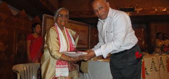 राष्ट्र सेविका समिति उत्तर असम प्रान्त के द्वारा अभिनन्दन कार्यक्रम