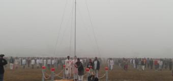 शिविर में मना गणतंत्र दिवस