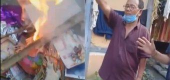 Arunachal – Christian Missionaries Burn Tribal & Hindu Gods